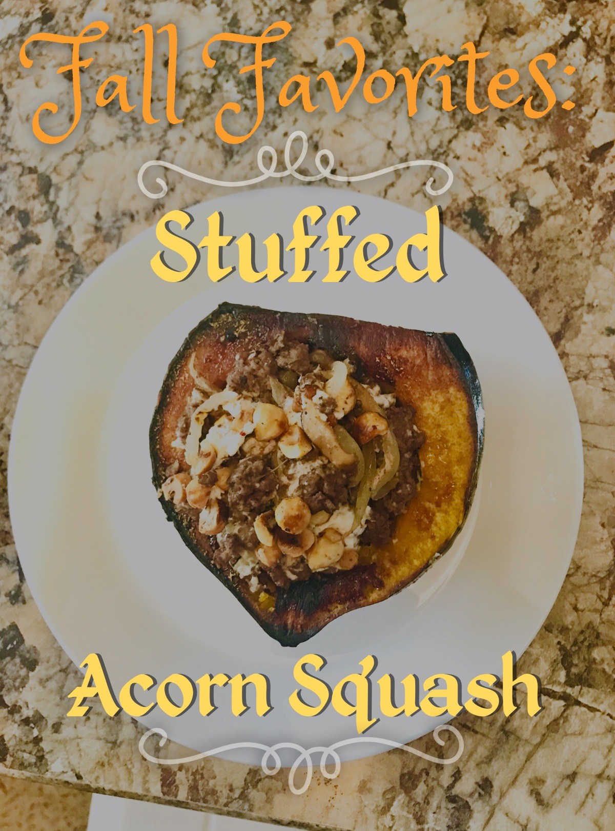 Friday Fall Favorites: Stuffed Acorn Squash Recipe